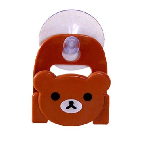 Set of 4 Practical/Useful/High-quality Dishwashing Sponge Holder, Bear Shape