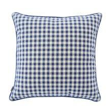 Square Throw Pillow Comfortable Soft Pillow Back Cushion Sofa Cushion, Blue