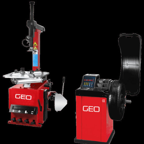 Semi Auto Tyre Machine and Wheel Balancer Package