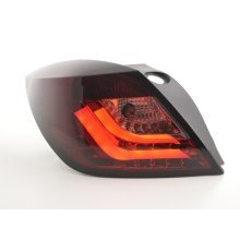 Led Taillights Opel Astra H GTC Year 04-08 red/black