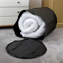 Hangerworld Black King Size Duvet Pillow Bedding Blanket Storage Bag.