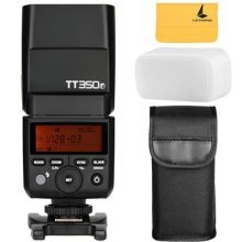GODOX TT350F 2.4G HSS 1/8000s TTL GN36 Camera Flash Speedlite for Fuji X-Pro2 X-T20 X-T2 X-Prol X-T10 X-El X-A3 X100T ect. Digital Camera