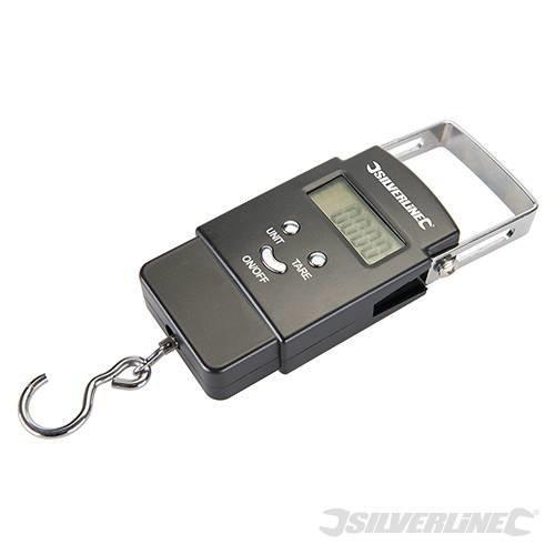 Silverline Electronic Pocket Balance 50kg - 40kg Scales 243857 Digital -  electronic balance pocket silverline 40kg scales 243857 digital