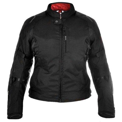 Oxford Girona Black Womens Short Motorcycle Jacket