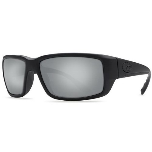 Costa Del Mar Fantail Polarized Blackout Men Sunglasses TF-01-OSCP