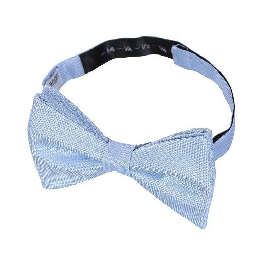 Light Blue Panama Silk Thistle Pre-Tied Bow Tie