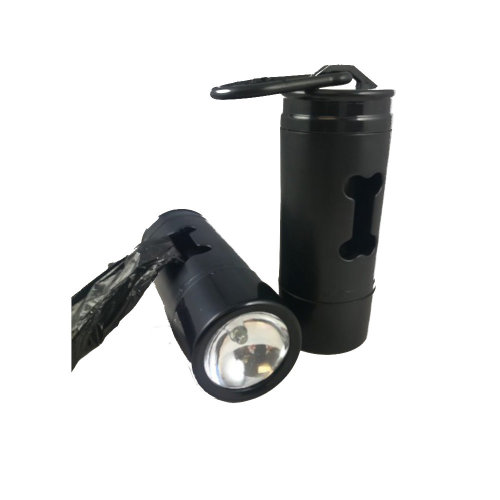 Uni Com Global Limited Battery Operated Torch With Dog Waste Bag Dispenser