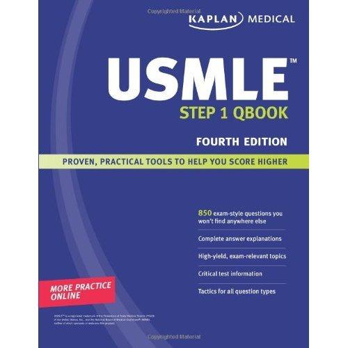 Kaplan USMLE Step 1 QBook (Kaplan USMLE Qbook) on OnBuy