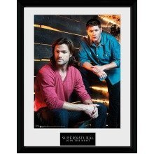 Supernatural Sam and Dean Framed Collector Print