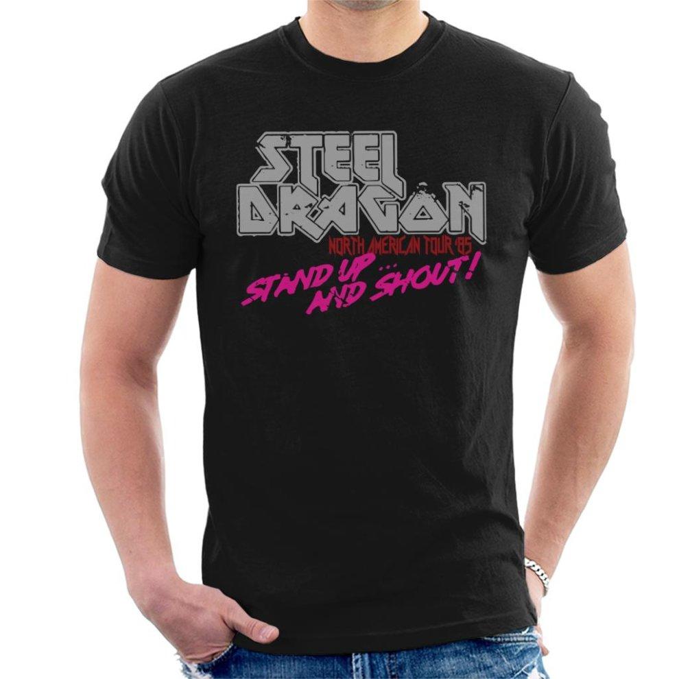 Steel Dragon Rock Star T Shirt