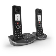 BT Advanced Twin Dect Call Blocker Telephone with Answer Machine