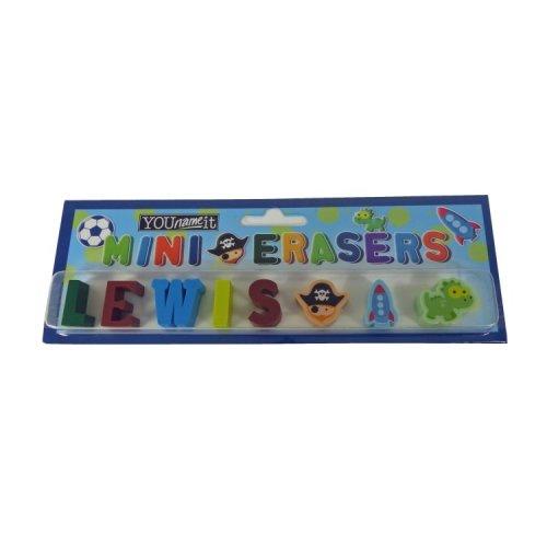 Childrens Mini Erasers - Lewis