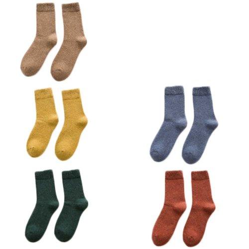 5 Pairs Adult Floor Socks Sleep Socks Winter Casual Socks #8