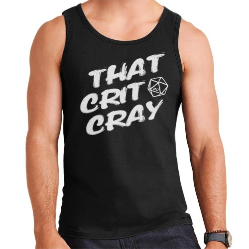 That Crit Cray Dungeons And Dragons Men's Vest