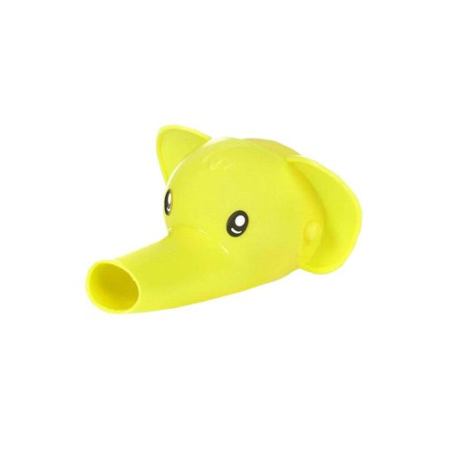Yellow Home Baby Hand Wash Tool Water Guiding Cutter