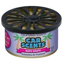 CALIFORNIA SCENTS AIR FRESHENER HOME OFFICE CAR VAN BUSINESS TAXI BUS CAB TRUCK[NAPA GRAPE]