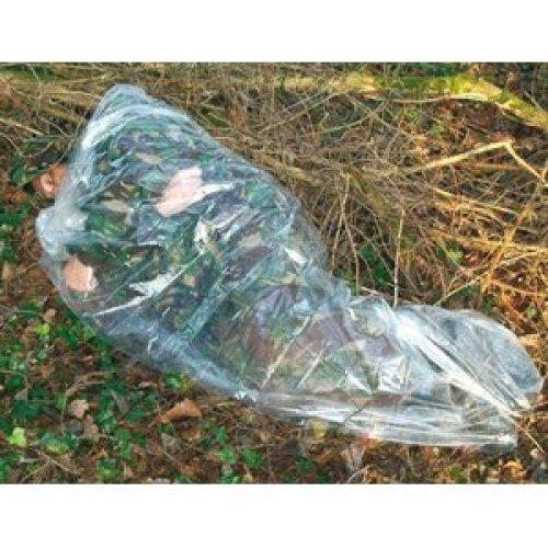 BCB CL520 Emergency Medium Gauge Polythene Survival Sleeping Bivi Bag