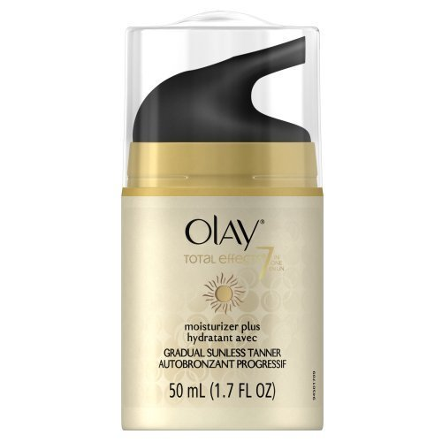 Olay Total Effects Moisturizer Plus Touch Of Sunless Tanner 1 7 Fl Oz