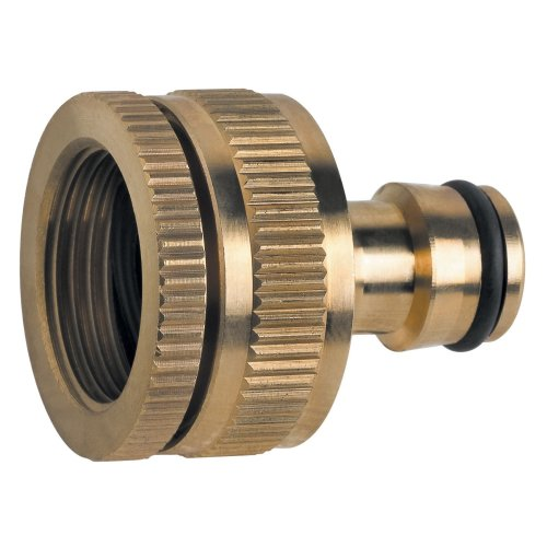 """Made of Brass Universal Multi-purpose Garden Tap Connector Female 1/2"""" or 3/4"""""""
