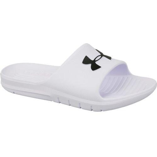 Under Armour Core PTH Slides 3021286-100 Mens White slides Size: 4.5 UK