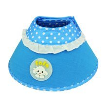 Candy Color Dog Wound Healing Elizabeth Protective Collar BLUE, S