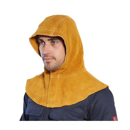 sUw - Fire Resistant Split Cowhide Leather Welding Hood