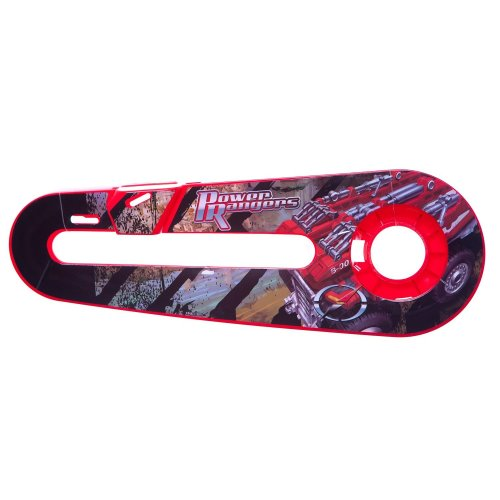 "POWER RANGERS TRUCK Kids Bike Bicycle CHAIN GUARD for 12"" WHEELS in RED"