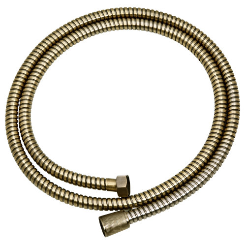 Retro Bathroom Antique Brass Decorative Shower Hose Flexible Bath Pipe 150cm