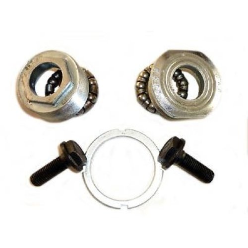 BOTTOM BRACKET BEARINGS CUPS & LOCKNUT with NUTS for BIKE BICYCLE New