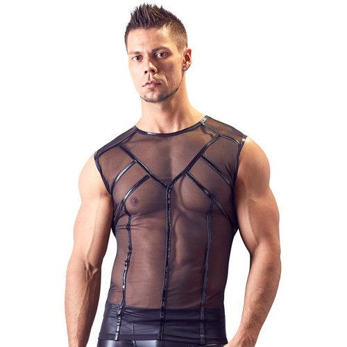 Powernet Shirt Small Men's Lingerie Shirts - Svenjoyment Underwear