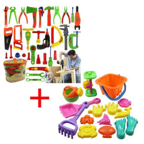 Educational Toys Pretend & Play Toys Children Repair Kit&Beach Toys