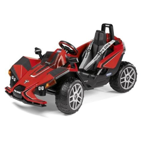 Peg Perego Children's Electric Car Polaris Slingshot with Remote Control