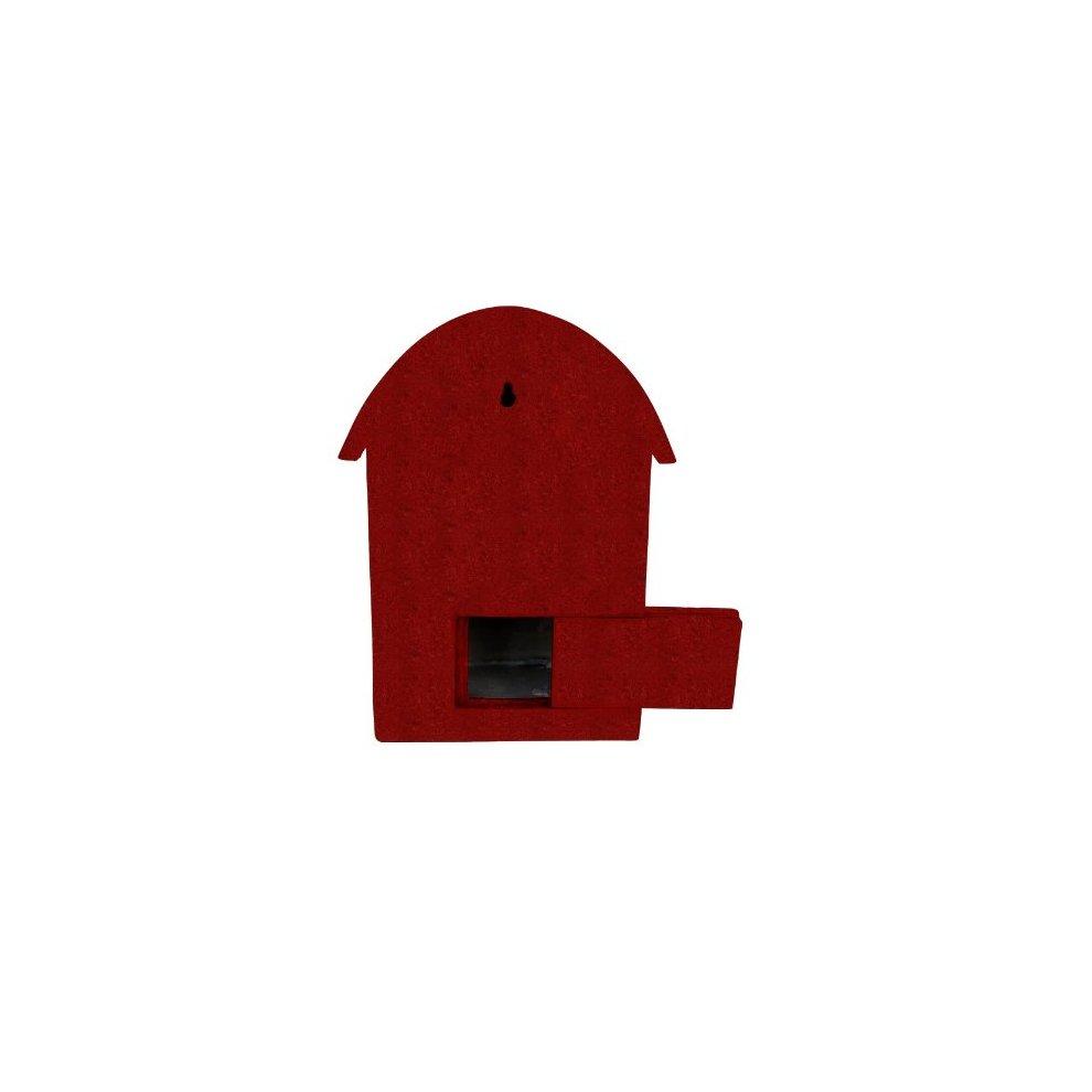 Vogelbadjes, -voerbakken Red Vivid Arts D-Letterbox Birdhouse