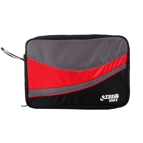 Double-deck Table Tennis Racket Case Bag RED