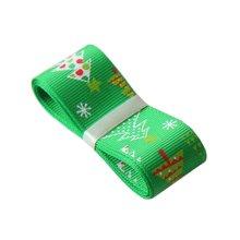 Christmas Decor Craft Home Decor Ribbon for Christmas [Tree, Green]