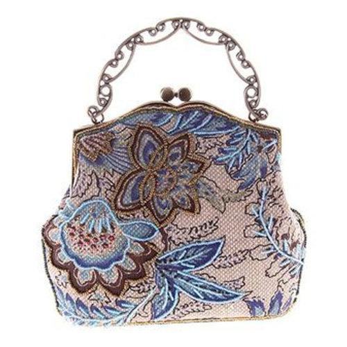 Women's Vintage Style Clutch Evening Bag Elegant  Luxurious Handbag Purse-Banquet-Cocktail Party, C
