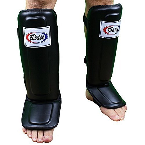 Fairtex Pro Style Shin Guards Black Large