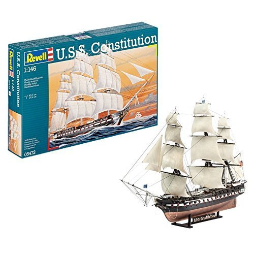 Admiral Nelson Flagship Revell Kit 1:450 RV05819 Model