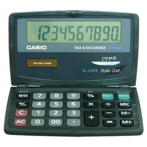 Casio SL-210TE Pocket Basic calculator Black calculator