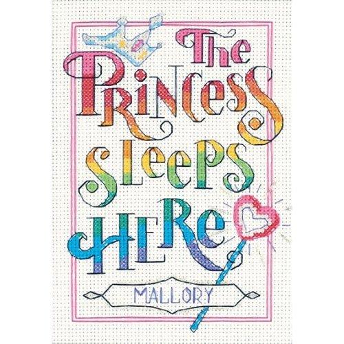 D06941 - Dimensions Stamped X Stitch - Mini -  The Princess