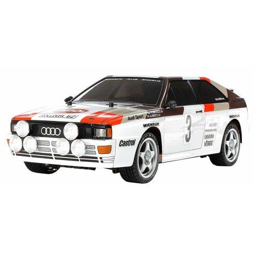 Tamiya 58667 58667-1:10 RC Audi Quattro Rally A2 (TT-02) Model Kit
