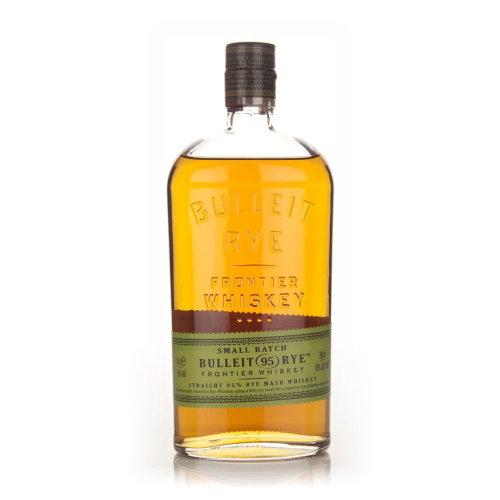 Bulleit Bourbon Rye Whiskey, 70 cl