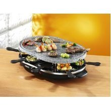 Swan Classic Stone Raclette No Butter/Oil Required - Black (Model SP17030N