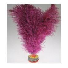 1 Pcs Professional Ostric Feather Kick Shuttlecock Chinese Jianzi Random Color