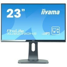"Iiyama Prolite Xub2390hs-b1 23"" Full Hd Ah-ips Matt Black Computer Monitor Led Display"