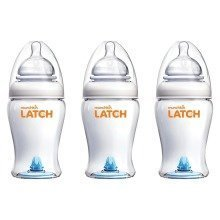 Munchkin 3pc Latch Bottles 240ml