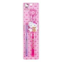 Hello Kitty Toothbrush Set Wcap: Pink