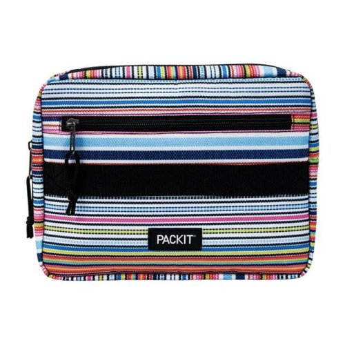 Packit 8963209 Packit Freezable Striped Bento Box, Assorted