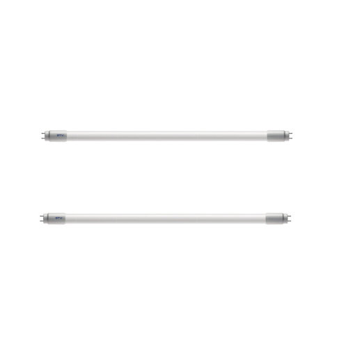 2x LED Tube Fluorescent Light T8 G13 1200mm 4FT 6400K Cold Light 18W - Replacement Lamp