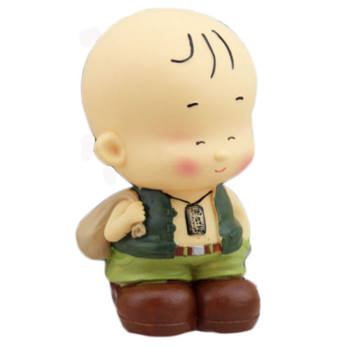 Pretty Cute Home Decor Ornament Money Banks Coin Banks, Boy With  Gunny Bag